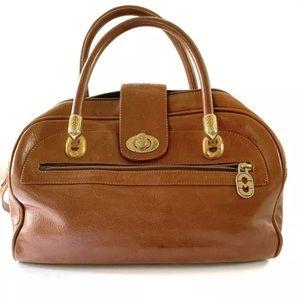 Marino Orlandi Leather Shoulder Crossbody Handbag